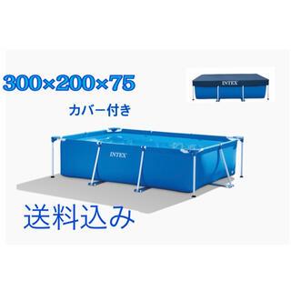 コストコ(コストコ)のインテックス 大型フレームプール 3m×2m 300メートル(その他)