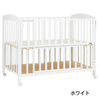カトージ(KATOJI)のベビーベッド 未使用 ハイタイプ 新生児から2歳(ベビーベッド)