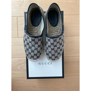 Gucci - GUCCI グッチ エスパドリーユ メンズ 6.5