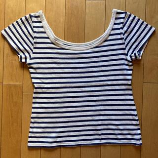 プーラフリーム(pour la frime)のpour la frime ボーダーTシャツ(Tシャツ(半袖/袖なし))