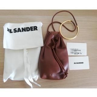 Jil Sander - 【新品】JIL SANDER ジルサンダー ブレスレットポーチ 茶