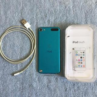 アイポッドタッチ(iPod touch)のiPod touch 第五世代 ブルー(ポータブルプレーヤー)