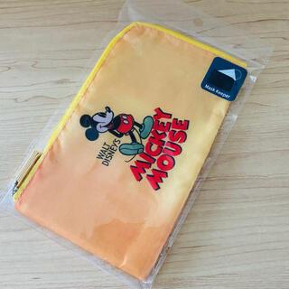 ミッキーマウス(ミッキーマウス)の【ディズニー】ミッキー柄 マスクケース④(日用品/生活雑貨)