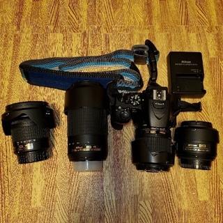 Nikon - 【レンズ4本】Nikon D5600 ダブルズーム&超広角ズーム&単焦点ほか多数