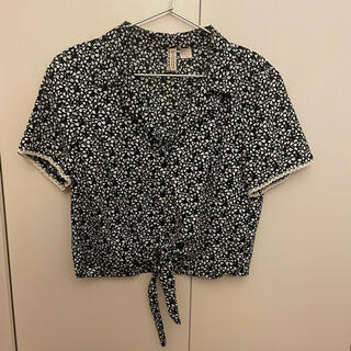 エイチアンドエム(H&M)のH&M フロントタイリゾートシャツ(シャツ/ブラウス(半袖/袖なし))