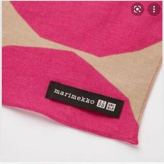 ユニクロ(UNIQLO)のUniqlo marimekko 海外限定版 ストール(バンダナ/スカーフ)