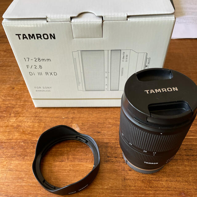 TAMRON(タムロン)のTAMRON 17-28mm F/2.8 Di III RXD  スマホ/家電/カメラのカメラ(レンズ(ズーム))の商品写真