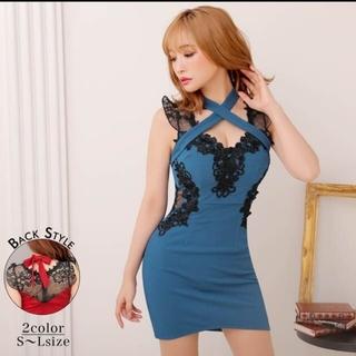 デイジーストア(dazzy store)の完売品 デイジーストア クロスデザインドレス(ナイトドレス)
