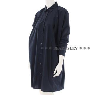 ビアズリー(BEARDSLEY)のBEARDSLEY ビアズリー BIGポケット ロング シャツ ワンピース(シャツ/ブラウス(長袖/七分))