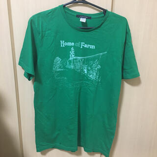 ドアーズ(DOORS / URBAN RESEARCH)のアーバンリサーチのロゴTシャツ♡緑 新品未使用(Tシャツ(半袖/袖なし))