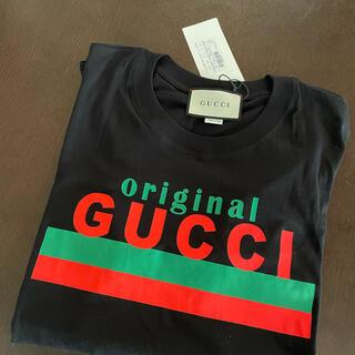 Gucci - 新品タグ付 オリジナル グッチ GUCCI オーバーサイズ Tシャツ Mサイズ
