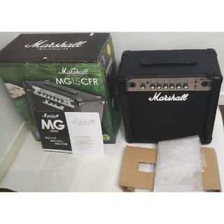 送料込み 新品同様 Marshall マーシャル MG15CFR(ギターアンプ)