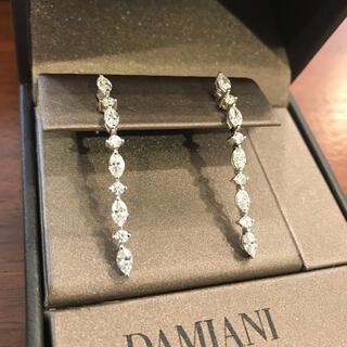 ダミアーニ(Damiani)のDAMIANI ダイヤモンドピアス タイムレスクラシコ 一点もの(ピアス)