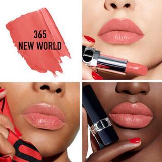 ディオール(Dior)のルージュディオール 365ニューワールドサテン(口紅)