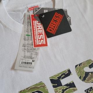 DRESS カモフラージュ ロゴTシャツ M