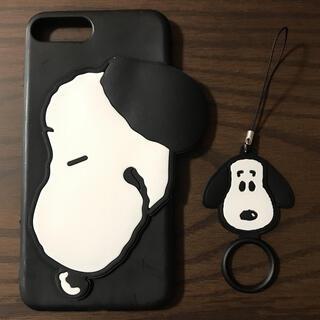 スヌーピー(SNOOPY)の新品未使用 スヌーピー iPhoneケース(iPhoneケース)
