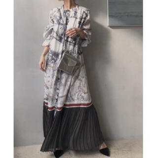 Ameri VINTAGE - アメリヴィンテージ UNDRESSED CRUISE SCARF DRESS