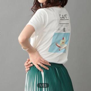 TOMORROWLAND - 人気商品 CAST:ミラーTシャツ 【FRONTプリント】