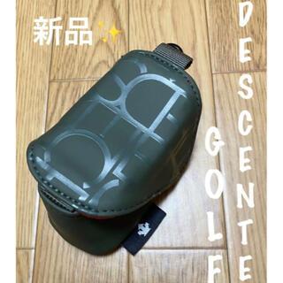DESCENTE - 新品⛳️デサントゴルフ ボールポーチ ボールケース 小物入れ