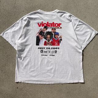 00s 古着 レア ViolatorAlbum アルバムジャケ プロモ tシャツ(Tシャツ/カットソー(半袖/袖なし))