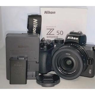 Nikon - 【未使用に近い】NIKON Z50 + NIKKOR16-50VR レンズキット
