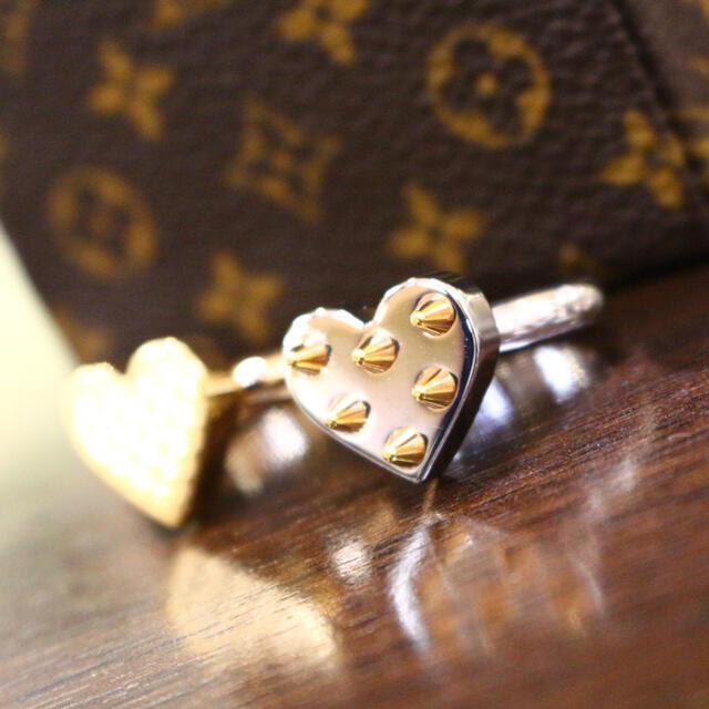 LOUIS VUITTON(ルイヴィトン)のヴィトン☆リングセット/バーグス スパイシー バレンタイン/16号 レディースのアクセサリー(リング(指輪))の商品写真