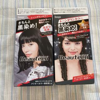 ホーユー(Hoyu)のビューティーン トーンダウンカラー ナチュラルブラック(2セット)(カラーリング剤)