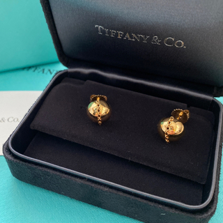 Tiffany & Co. - tiffanyハードウェアボルドスタッドピアスAU750ゴールド