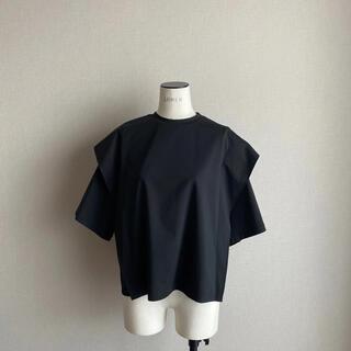 黒18700円 lohen デザインカットソー