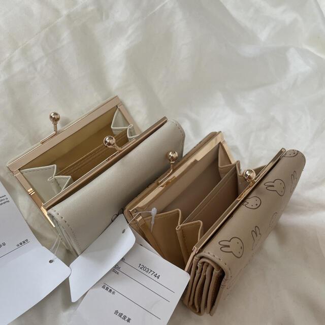 Avail(アベイル)のミッフィー 財布 ベージュ アベイル ホワイト Avail しまむら レディースのファッション小物(財布)の商品写真