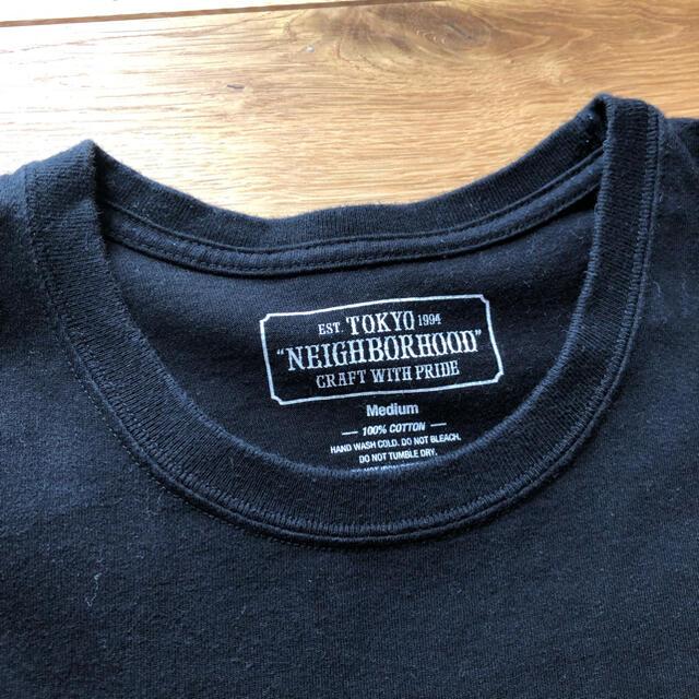 NEIGHBORHOOD(ネイバーフッド)のNEIGHBORHOOD ロゴ Tee Tシャツ ネイバーフッド wtaps メンズのトップス(Tシャツ/カットソー(半袖/袖なし))の商品写真