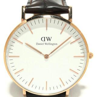 ダニエルウェリントン(Daniel Wellington)のダニエルウェリントン 腕時計美品  B36R1(その他)
