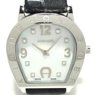 アイグナー(AIGNER)のアイグナー 腕時計 - A32200 レディース(腕時計)