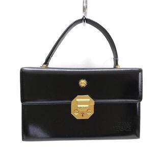 ジャンニヴェルサーチ(Gianni Versace)のジャンニヴェルサーチ ハンドバッグ - 黒(ハンドバッグ)