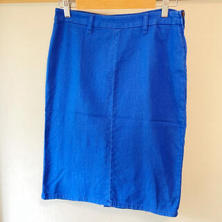 BEAMS - BEAMS スカート タイトスカート サイズ1 ブルー
