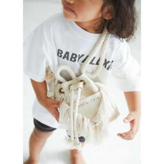 アリシアスタン(ALEXIA STAM)のBABY ALEXIA V Fringe Drawstring Bag (トートバッグ)