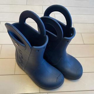 クロックス(crocs)のクロックス 長靴 19cm  C13(長靴/レインシューズ)
