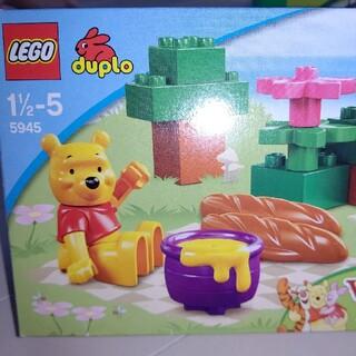 レゴ(Lego)の[美品中古]LEGOduplo 5945プーさん(積み木/ブロック)