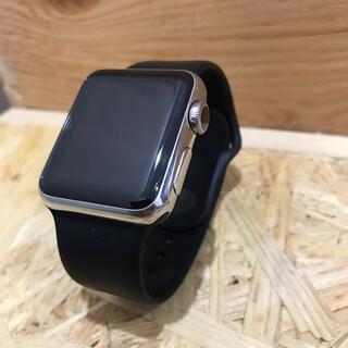 Apple Watch - アップルウォッチseries1 38㎜ステンレス