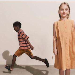 ユニクロ(UNIQLO)のユニクロユー キッズ Tシャツ ショートパンツ 140 150(Tシャツ/カットソー)