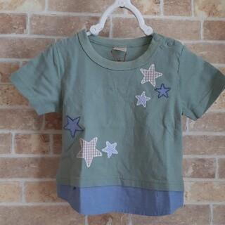 プティマイン(petit main)の【新品未使用】プティマイン☆Tシャツ 80cm(Tシャツ)