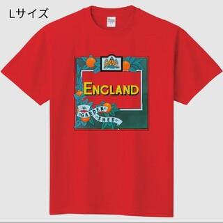 ロックTシャツ England「Garden Shed」