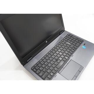ヒューレットパッカード(HP)の【ジャンク品】HP ワークステーション/i7/K2100M/16G/BD(ノートPC)