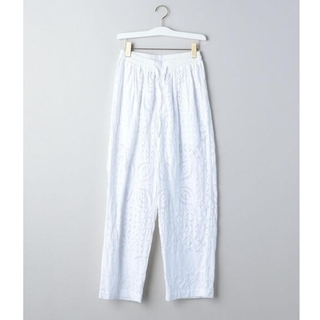 BEAUTY&YOUTH UNITED ARROWS - 完売品 dahl'ia × 6 ROKU WHITE QUILTED PANTS