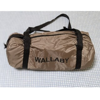 ワラビーテントDOD(WALLABY TENT T2-657-BR ブラウン)