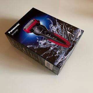 パナソニック(Panasonic)のパナソニック ラムダッシュ ES-CST2S 赤(メンズシェーバー)