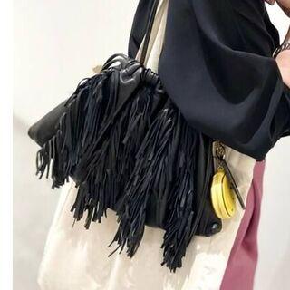 L'Appartement DEUXIEME CLASSE - GOOD GRIEF Lamb Leather Fringe Bag