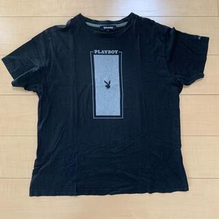 PLAYBOY - PLAY BOY 黒Tシャツ メンズLサイズ