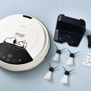 スヌーピー(SNOOPY)の新品 スヌーピー ロボットクリーナー AQUA SN100 掃除機 アクア(掃除機)