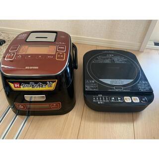 アイリスオーヤマ -  炊飯器 アイリスオーヤマ KRC-ID30-R IHジャー炊飯器3合 3合